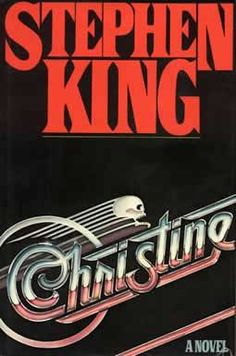 For the film see, Christine (film). Christine is the book published by Stephen King; The book was released by Viking on 29 April Stephen Kings, Christine Stephen King, Stephen King Novels, I Love Books, Good Books, Books To Read, My Books, Roman, Plymouth Fury