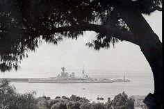 HMS Hood, Hawaii. by umbry101 Rare Photos, Old Photos, Hms Hood, Royal Australian Navy, Uss Arizona, Capital Ship, Naval, Navy Ships, History Photos