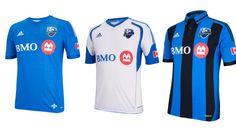 Camisas do Montreal Impact 2014 Adidas