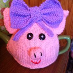 Pauline pig tea cosy