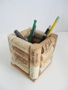 Créer avec les bouchons en liège! Voici 20 idées pour vous inspirer… #winecorkcrafts