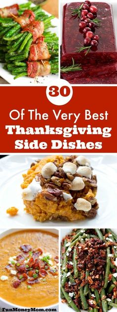These Thanksgiving side dishes are perfect for your holiday dinner!