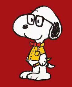 Nerd Snoopy!