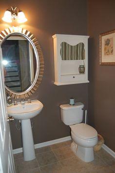 Top Bathroom Paint Colors for House#bathroom #colors #house #paint #top Small Bathroom Colors, Bathroom Paint Colors, Bathroom Wall Decor, Bathroom Ideas, Bathroom Faucets, Small Bathrooms, Bathroom Without Windows, Powder Room Paint, Best Blue Paint Colors
