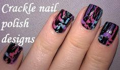 DIY: Crackle #nail polish designs https://www.youtube.com/watch?v=YYfoJSlTfxg