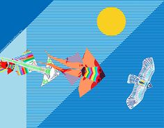 "Check out new work on my @Behance portfolio: ""Aquiloni / kites"" http://on.be.net/1Kv7MvX"
