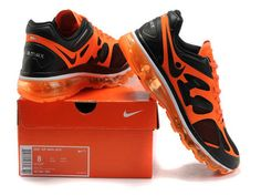 Nike Air Max 2012 Black Orange Shoes