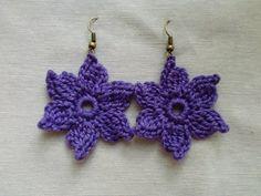 Van Van Handmade: Pendientes de crochet