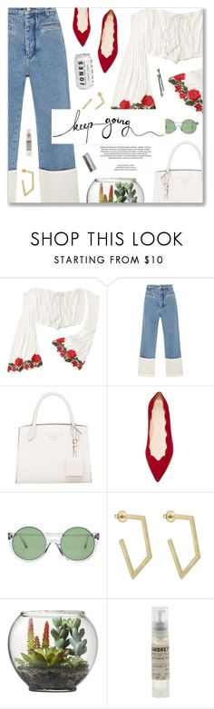 """""""#1166 Queens Of Noise, The Runaways"""" by blendasantos ❤ liked on Polyvore featuring Loewe, Club Monaco, Le Specs, xO Design, Threshold, BOBBY, Le Labo, girlpower and powerlook"""