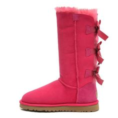 pINK UGG BAILEY BOW CLASSIC TALL