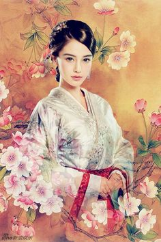Yun Zhong Ge 云中歌 Song in the Clouds… Yang Rong 杨蓉, Lu Yi 陆毅, Angelababy Yang… Chinese Painting, Chinese Art, Art Asiatique, L5r, Angelababy, China Girl, Oriental Fashion, Oriental Style, Ancient China