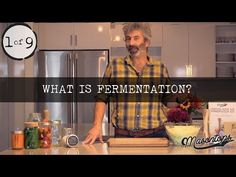 In part 4 of Sandor talks about the Probiotics and the War on Bacteria. We are conditioned to be afraid of bacteria, and somewhere along the way probiotic. Making Sauerkraut, Brew Your Own, Fermented Foods, Brewing, Benefit, Vegetarian Recipes, Food And Drink, Make It Yourself, Vegetables