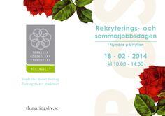 Fram och baksida för RoS-broschyren. Våren 2014.