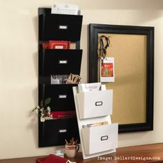we all love the pottery barn mail organizers right? here is how to make your own and save some $$$$! enjoy!