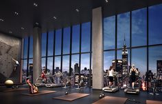 workout with a view: we take a look at residential gym designs that help occupants keep fit throughout the year.