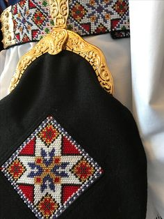 Made by Inger Johanne Wilde Global Village, Norway, Diy And Crafts, Beanie, Costumes, Hats, Patterns, Dress, Hardanger