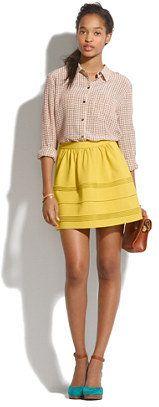 #Madewell                 #Skirt                    #Silhouette #Skirt        Silhouette Skirt                                    http://www.seapai.com/product.aspx?PID=1624746
