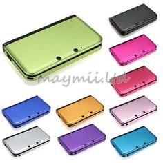 Rose or hot pink :) New  Metal Box Aluminum Hard Cover Case Shell Protector For Nintendo 3DS XL LL #UNBrand