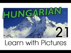 Learn Hungarian Vocabulary with Pictures - Describing the World Around You - YouTube