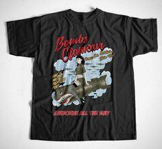 T-Shirt Bombshell S-XXL Flieger Flugzeug RC Flug Rockabilly