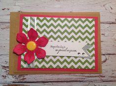 Handmade blank card, birthday card, Kraft card, all occasion card, handmade card, by PinkyPromiseBargains on Etsy