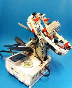 LEGO Mindstorms robots-Flycatcher robot