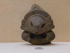 a piece of Jomon Doki, goddess' head