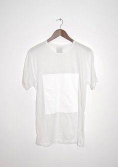 LAB HOMME organic white T-shirt