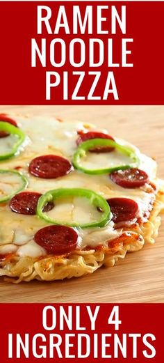 OMG my kids and hubby LOVED this ramen noodle pizza recipe!!!!