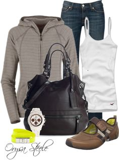"""On the Go"" by orysa on Polyvore"