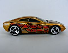 Hot Wheels Dodge Charger R/T Diecast Sports Car Vehicle EX-44 Experimantal Gold #HotWheels #Dodge