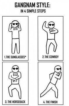 Gangnam Style in 4 Simple Steps