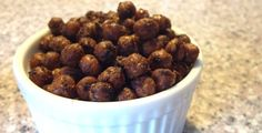 Spicy Roasted Chickpeas  (haven't tried this yet)