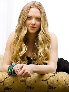 I am obsessed with Amanda Seyfried's hair.  It just always looks great.