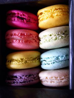 I want to go back to Cannes so that I can get more macaroons...