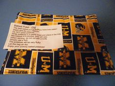 MICHIGAN   WOLVERINES  microwave BAKED   by Georgia1Stringer, $7.00
