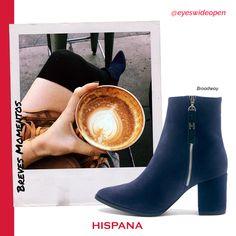 Un café con tus zapatos favoritos. Velvet + fall + fashion