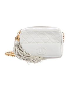cebd9e1cd528 Chanel Vintage Quilted Lambskin CC Camera Bag