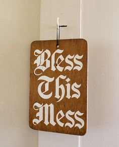Typeverything.com - Bless this mess via The Selby.