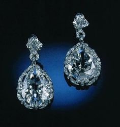 Marie Antoinette's Diamond Earrings