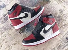 ffebbcfc0a08 2018 Air Jordan 1 Retro High OG Bred Toe For Sale