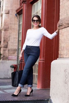 Inspiration look Day to night : Day to Night Denim   Featuring NYDJ