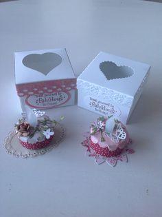 Tea light birthday cakes