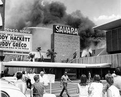 Sahara Hotel fire, Las Vegas, Nevada. August 25th, 1964.