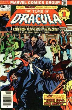 Tomb of Dracula # 49 by Gene Colan & Tom Palmer