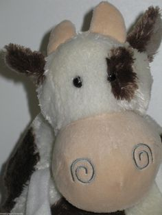 Unique Roly Poly cow plush toy by Jours Heureux. $39.95 with FREE U.S. & Canadian shipping.