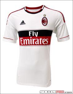 adidas AC Milan Away Jersey 2012-2013...$59.99