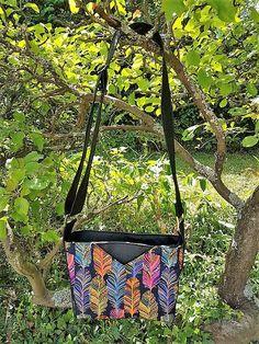 Sac Mambo à plumes cousu par Isabelle - Patron Sacôtin