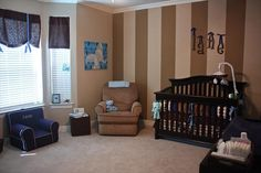 elephant-themed baby room.  so tempting...