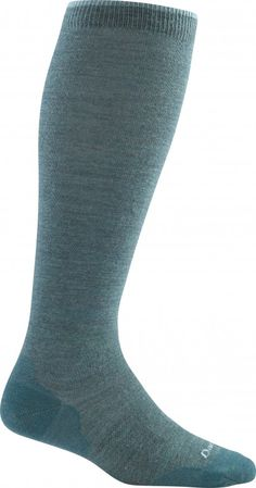 Solid Knee High Light / Teal / W Small